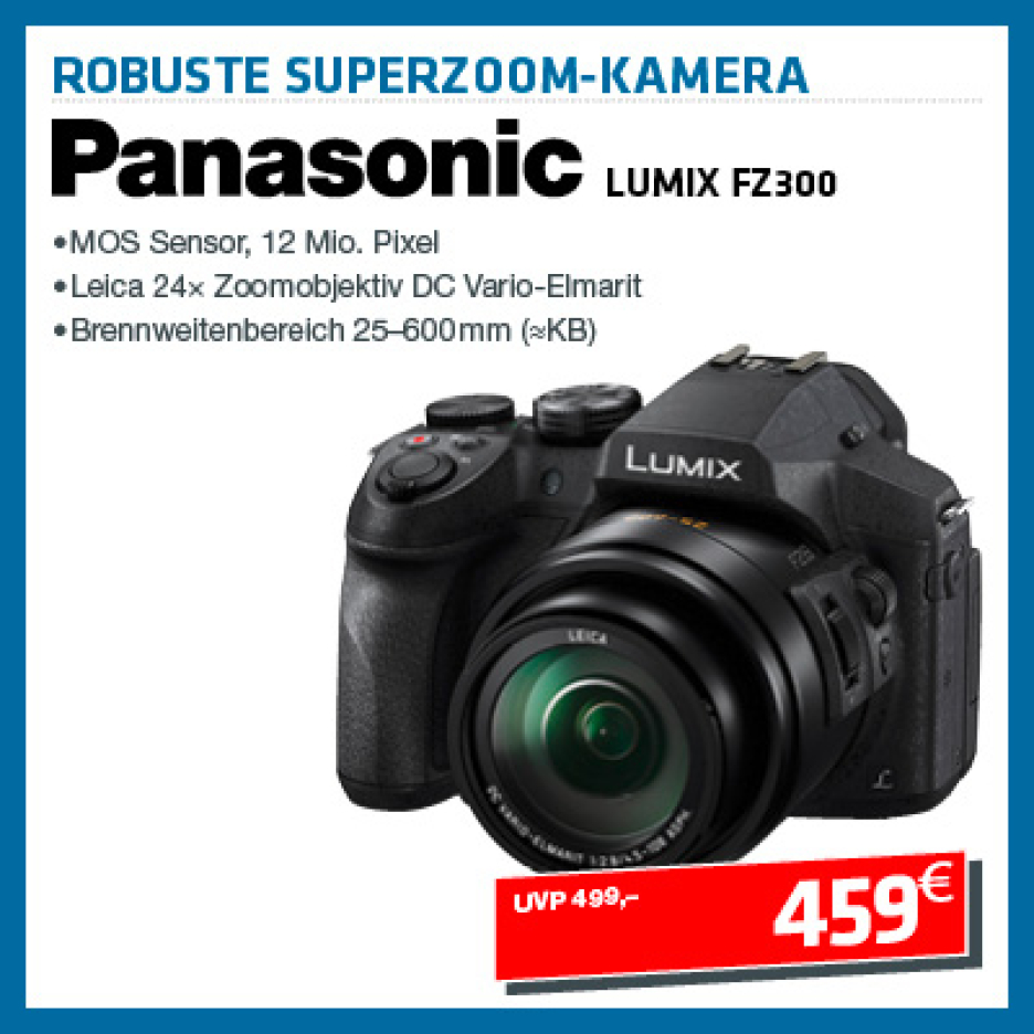 Panasonic Lumix DMC-FZ 300